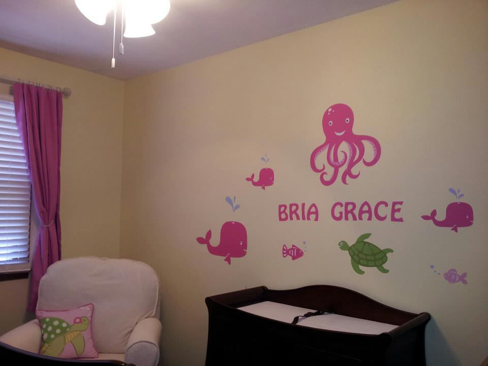Under the Sea Wall Mural Decals