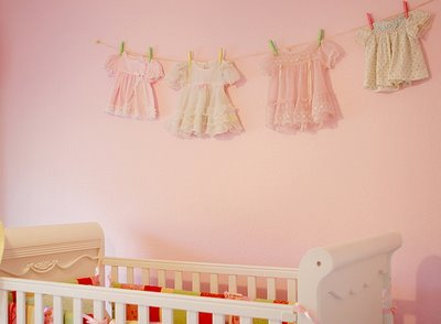 Vintage Nursery Decor