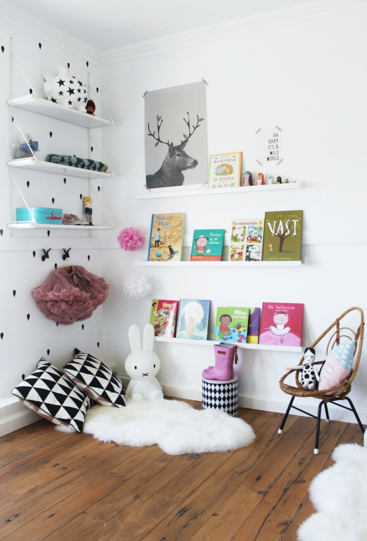 Modern shelving for kids weedecor here are 10 interesting shelf ideas for baby nurseries and kids rooms amipublicfo Choice Image