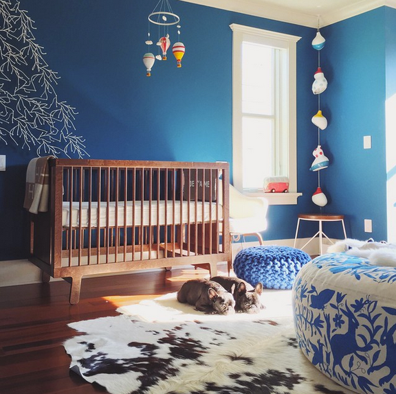 Nursery Blues Weedecor