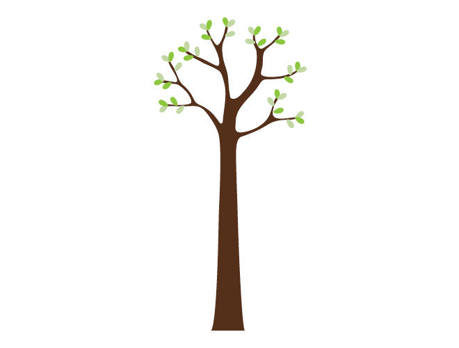 6ft Classic Tree Wall Decal