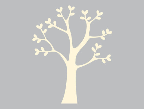 4ft Classic Tree Wall Decal