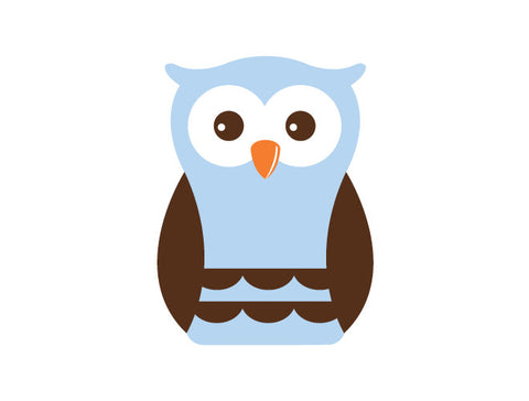 Boy Owl Wall Decal