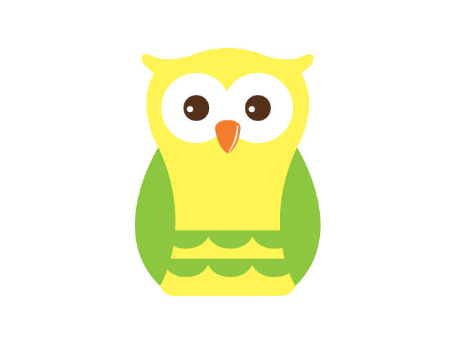 Boy Owl Wall Decal – weeDECOR