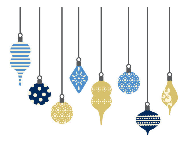 Ornament Wall Decals