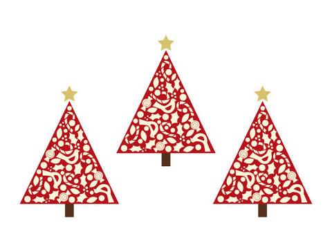 Holiday Tree Wall Decals