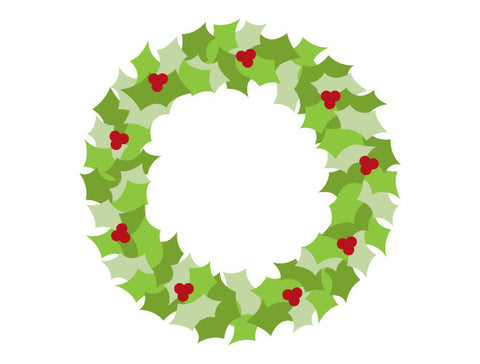 Wreath Wall Decal