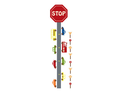 Car Wall Decal Growth Chart