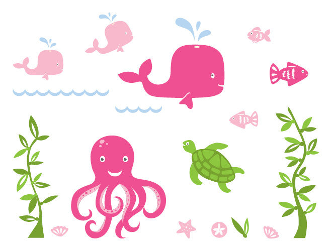 Under The Sea Wall Decal Mural Part 47