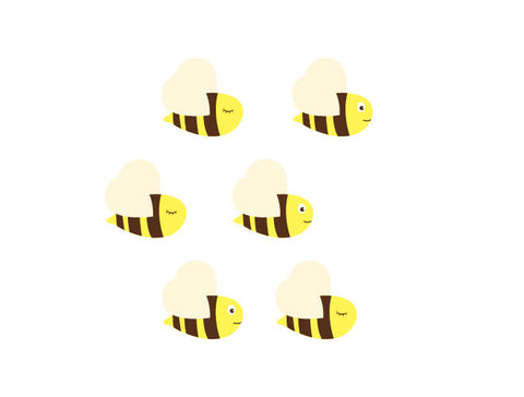 Bumble Bee Wall Decal