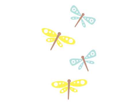 Dragonfly Heaven Wall Decal