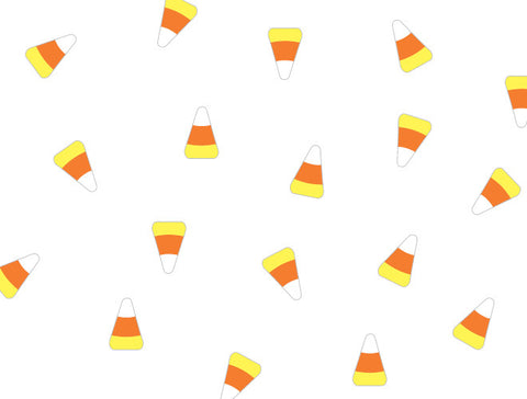 Halloween Candy Corn Wall Decal
