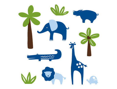 Safari Wall Decal Mural