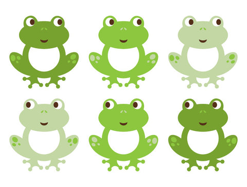 Frog Wall Decals