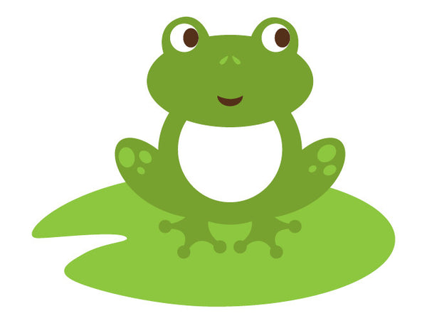 Very best Lily Pad Frog Wall Decal – weeDECOR XV44