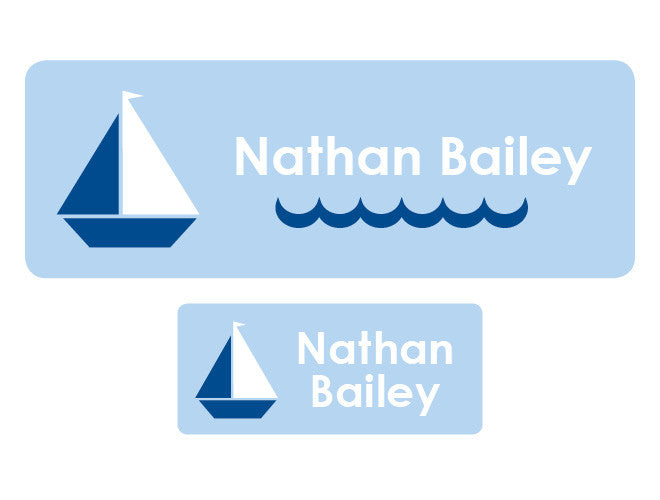 Sailboat Personalized Labels