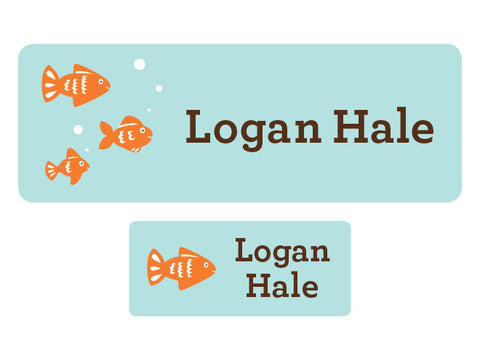 Fish Personalized Labels