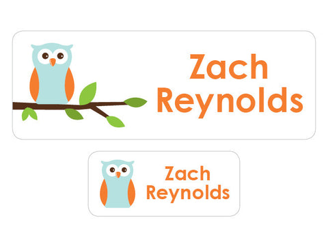 Owl Personalized Labels