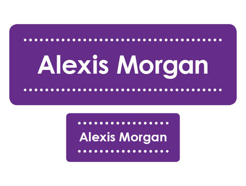 Decorative Personalized Labels