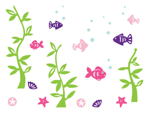 Fish Mural Wall Decal