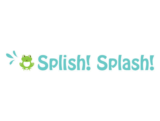 Splish Splash Wall Decal Quote