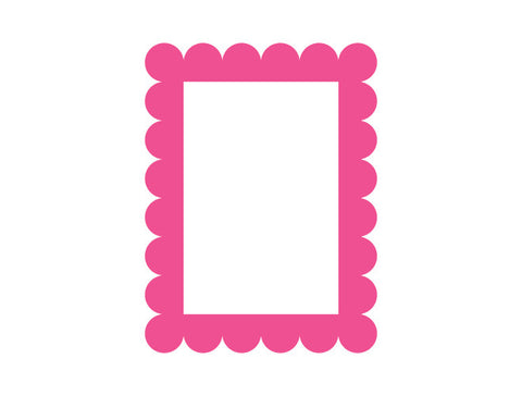 Pretty Frame Wall Decal