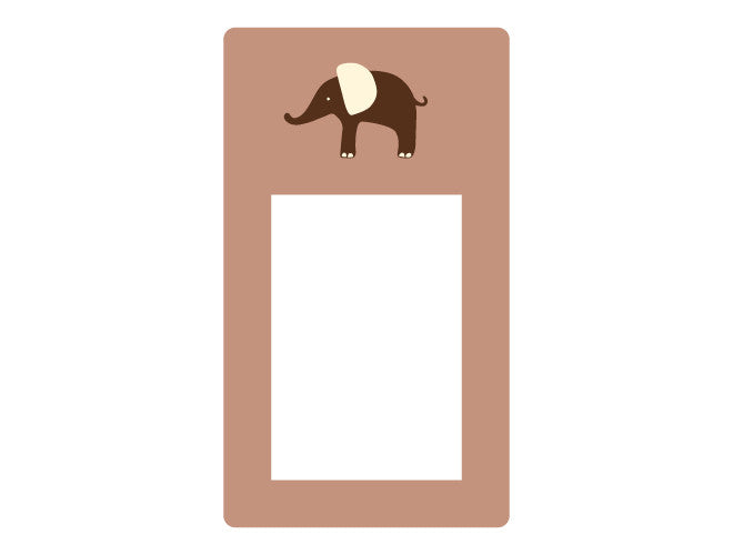 Elephant Frame Wall Decal