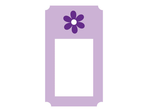 Flower Frame Wall Decal