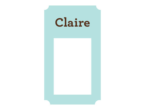 Personalized Frame Wall Decal