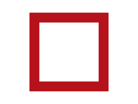 Simple Square Frame Wall Decal