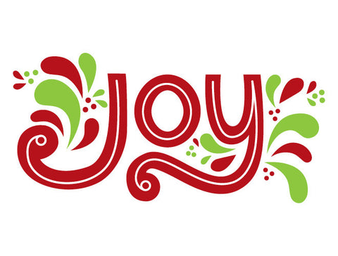 Joy Wall Decal