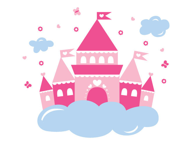 Princess Castle Wall Decal