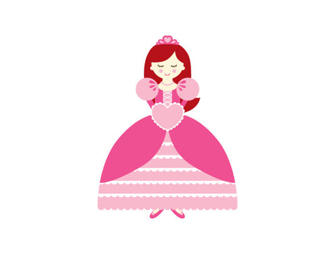 Personalized Princess Wall Decal