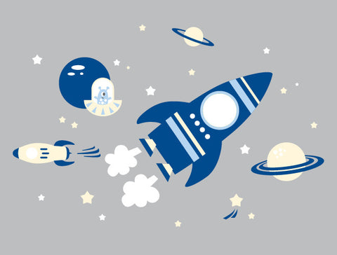 Space Mural Wall Decal