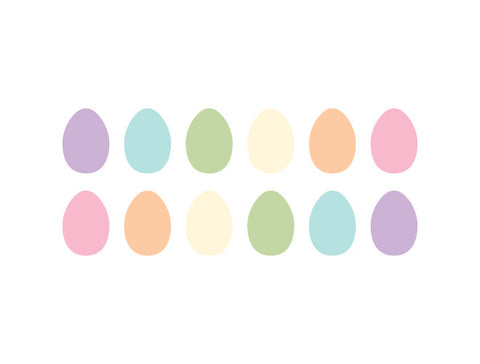 Easter Egg Wall Decals