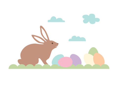 Easter Bunny Wall Decals