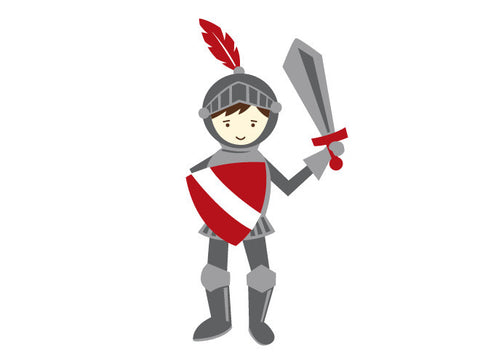 Knight Wall Decal