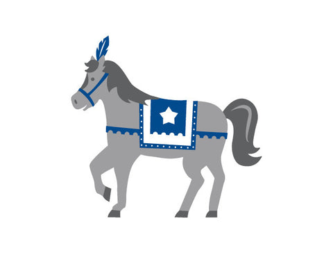 Knight Horse Wall Decal