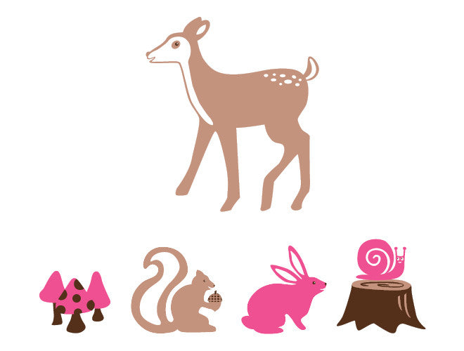 Nature Animals Wall Decal