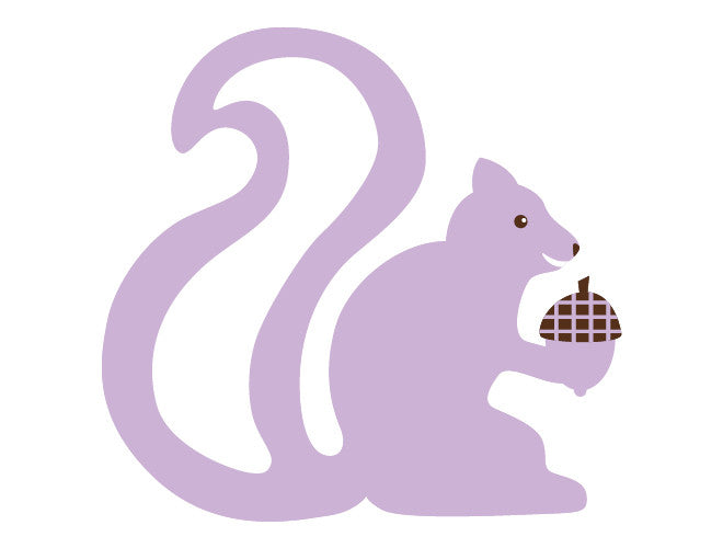 Squirrel Wall Decal
