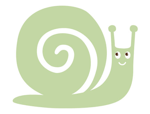 Snail Wall Decal