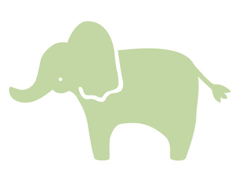 Classic Elephant Wall Decal