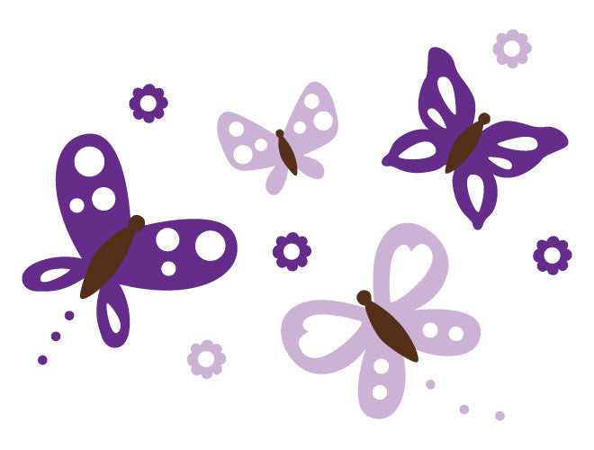 Butterfly Heaven Wall Decal