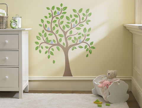4ft Whimsical Tree Wall Decal