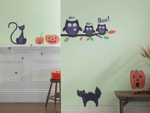 Halloween Pumpkins Wall Decal