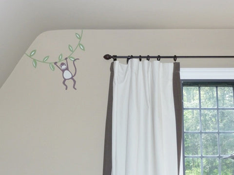 Hanging Monkey Wall Decal