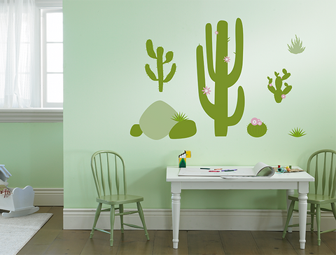 Desert Mural Wall Decal