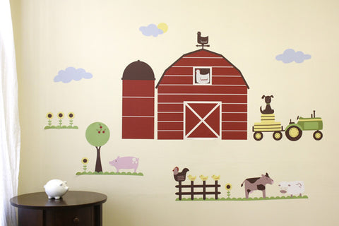 Farm Wall Decal Mural