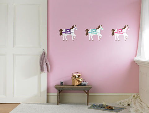 Princess Pony Wall Decal