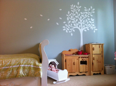 6ft Whimsical Tree Wall Decal